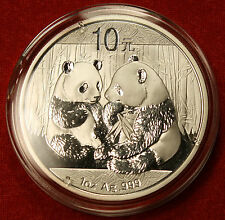 2009 CHINESE PANDA DESIGN 1 OZ .999% SILVER ROUND BULLION COLLECTOR COIN GIFT
