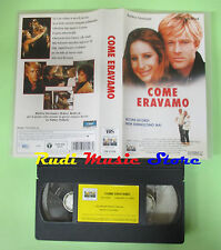 VHS film COME ERAVAMO 2000 Barbra Streisand Robert Redford COLUMBIA (F86) no dvd