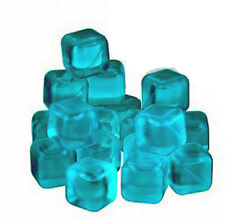 20 Reusable Blue Ice Cubes  Dishwasher Safe Party Picnic BBQ  New Fast Dispatch