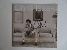 Signed Autographed CD Booklet Chris Isaak - Chris Isaak