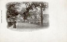 Bramhall Nr Stockport early vignette undivided back unused old pc J Shaw