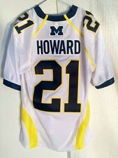 Adidas Premier NCAA Jersey Michigan Wolverines Desmond Howard White sz XL