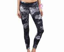 Tuff Athletics NEW Active Yoga Legging Smoke Print Black Ultraviolet PANTS 1x