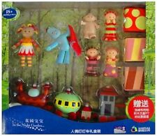 LARGE SET IN THE NIGHT GARDEN CHARACTER FIGURINES & NINKY NONK TRAIN TOY KID
