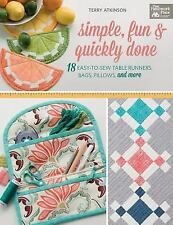 Simple, Fun and Quickly Done by Terry Atkinson (2017, Paperback)
