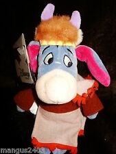 BNWT BIG CHEIF SITTING BULL EEYORE RED INDIAN COLLLECTION DISNEY STORE RARE