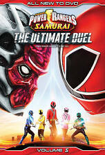 Power Rangers Samurai:Ultimate Duel V5  DVD NEW