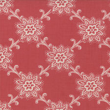 Moda LE BOUQUET FRANCAIS Faded Red 13665 18 Quilt Fabric BTY French General