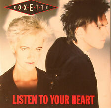 "ROXETTE - LISTEN TO YOUR HEART & (I COULD NEVER) GIVE YOU UP   7"" SINGLE (F1092)"