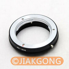 Minolta MD MC Lens to CANON EOS Mount Adapter No Glass