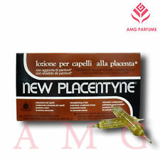 NEW PLACENTYNE FIALE ANTICADUTA ALLA PLACENTA PER CAPELLI | 12 FIALE DA 10ML
