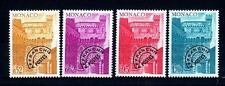 MONACO - Preann. - 1976 - Tipi dei francobolli del 1974 sovrastampati. Nuovi