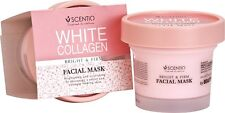 Scentio White Collagen Bright & White Facial Mask by Beauty Buffet