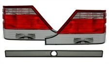SMOKED REAR TAIL LIGHTS LAMPS FOR MERCEDES S CLASS W140 09/1996-10/1998