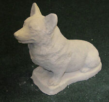 CONCRETE WELSH CORGI PEMBROKE DOG STATUE / MONUMENT