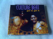 CULTURE BEAT - GOT TO GET IT - OLD SKOOL DANCE CD SINGLE