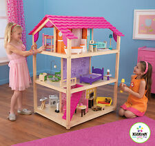 Kidkraft So Chic Dollhouse, Wooden Dollhouse for Barbie Sized Dolls