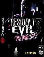 """Sega Dreamcast ( 2.5"""" X 3.5"""" FRIDGE MAGNET ) RESIDENT EVIL 3 NEMESIS Box Cover"""