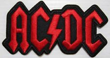 PATCH-ECUSSON ACDC ROUGE - GROUPE - MUSIC - WESTERN - COUNTRY