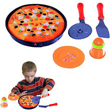 Dazzling Toys Kids Pizza Pie Party Cooking Cutting Accessories Play Set Toy