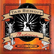 Tab Benoit - Medicine (CD) BRAND NEW SEALED SHIPS NEXT DAY