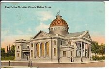 1915 The East Dallas Christian Church in Dallas, TX Texas PC