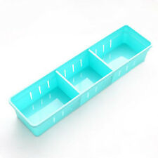 1Pc Colourful Home Storage Organizer Kitchen Cutlery Partition Divide Cabinet