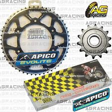 Regina 520 RH Chain Apico Sprocket Set 14T & 51T Black For Honda CRF 250R 2010