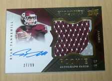 2012 Upper Deck Exquisite Rookie Autograph Patch Ryan Tannehill 27/99