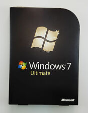MS Windows 7 ULTIMATE 32 a 64 bit DVD Retail versione completa tedesco glc-00205