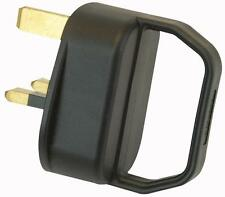 3 Pack 13A Easy Pull Mains Plug With Handle suitable for disabled and weak hands