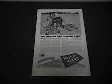 1946 Massey-Harris Tractor Co. Racine WI Print Ad Farm Equipment Corn Planter