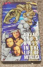 1992 Metalica VHS Tape A Year And A Half In The Life Of Metalica Part 1