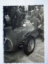 TORINO 1953 SALONE INTERNAZIONALE AUTOMOBILE car MASERATI F2 corsa