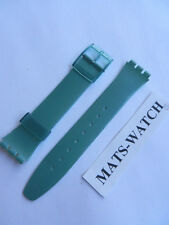 SWATCH+BAND+GENT+GG139 GREEN+17mm+NEU/NEW