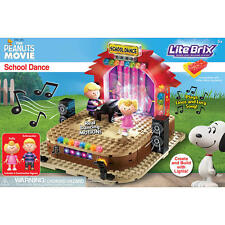 The Peanuts Movie Lite Brix School Dance New Sealed FREE SHIPPING Charlie Brown