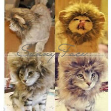 Hot Selling Pet Costume Cute Lion Mane Cat Hat Wig Cosplay Lion Stuffed UR