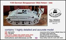 LZ Models 1/35 Bergepanzer 38(t) Hetzer Late Conversion for Tamiya/Dragon Hetzer