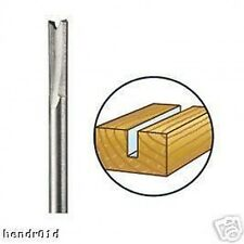 Dremel 650 3.2mm Straight Router Shaper Cutter Bit for High Speed Rotary Tools