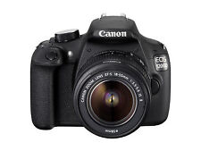 Canon EOS 1200d 12.0mp Fotocamera Reflex Digitale-Nero Kit con-S 18-55mm EF Lente III