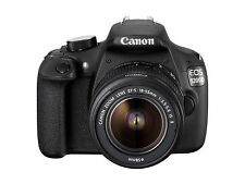 Canon EOS 1200D 18.0 Megapixels Digital Camera - Black (Kit w/ EF S 18-55mm...