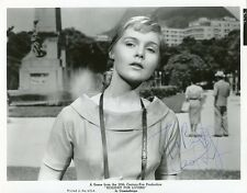 AUTOGRAPHE SUR PHOTO ORIGINALE de Carol LYNLEY (Collection Pierre Goulliard)