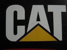 """NEW Caterpillar CAT Decal Sticker Dozer Truck Excavator Loader Skid Steer 12""""x7"""""""