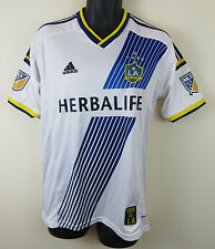 Adidas LA Galaxy Soccer Jersey Football Shirt Maglia Trikot US MLS Mens M Medium
