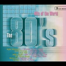 THE 80'S - HITS OF THE WORLD 3 CD MIT KYLIE MINOGUE NEU