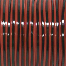 100 YARDS (91m) SPOOL DUO BLACK RED REXLACE PLASTIC LACING CRAFTS CYBERLOX