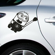 Minion car sticker vehicle decal graphic vinyl funny front window car van bumper