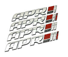 Car modification metal APR stage car sticker auto rear decal APR tailgate emblem