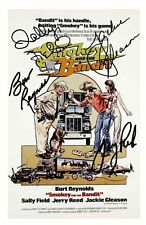 SMOKEY AND THE BANDIT AUTOGRAPHED SIGNED A4 PP POSTER PHOTO