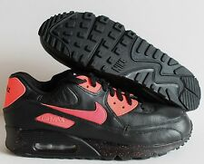 NIKE MEN AIR MAX 90 iD BLACK-PINK SZ 12  [455686-995]